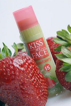 Organik dudak bakımı: Kiss My Face Lip Care spf 15