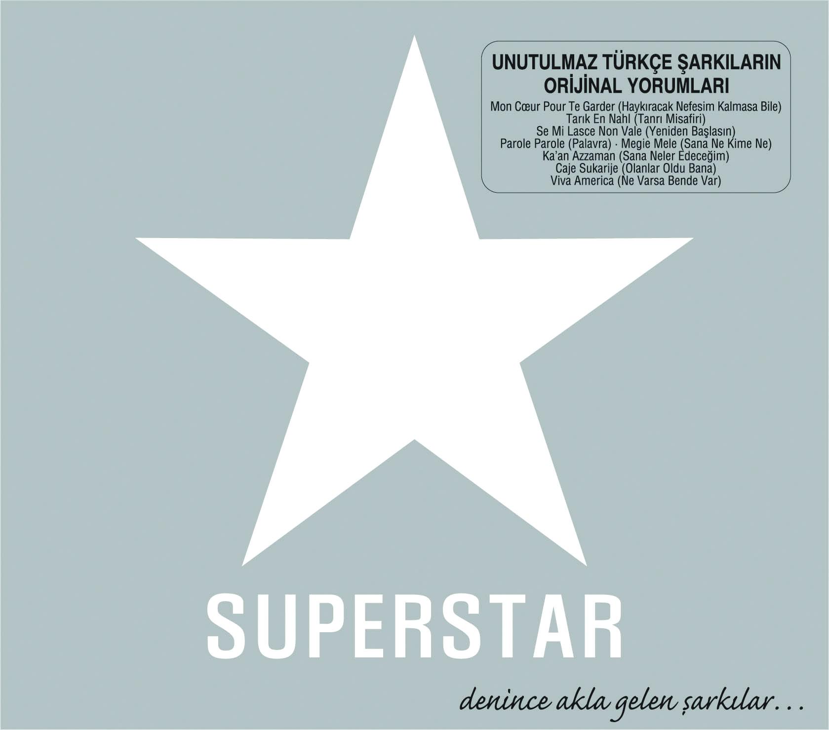 SUPERSTAR Unutulmaz Türkçe şarkıların orijinal yorumları (Artist)
