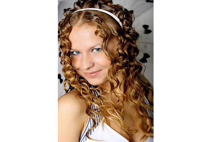 Kıvırcık saçlara özel