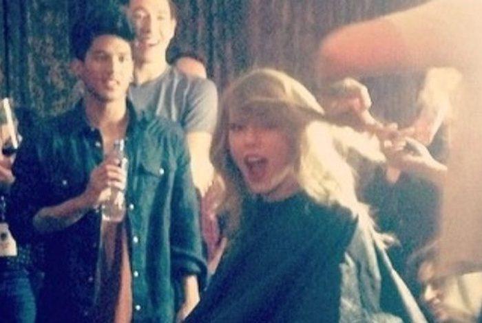 Harry, Taylor'ın konserinde!