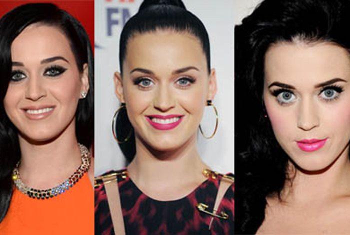 3 farklı Katy makyajı