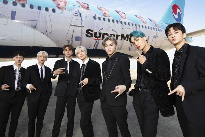 SuperM, Kore Hava Yolları'nın küresel elçisi seçildi