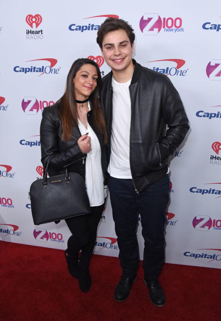 Jake T. Austin &Danielle Ceasar